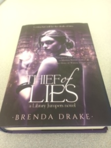 THief of Lies by Brenda Drake Book Cover